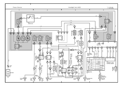 repair guides overall electrical wiring diagram 2004 overall electrical wiring diagram