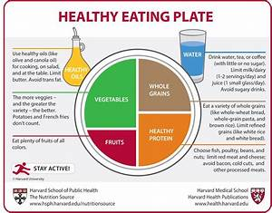 Healthy Eating Plate Vs  Usda U2019s Myplate