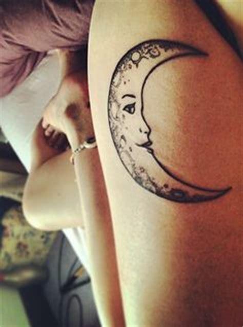 crescent moon tattoos  pinterest moon tattoos tribal moon tattoo  small moon tattoos