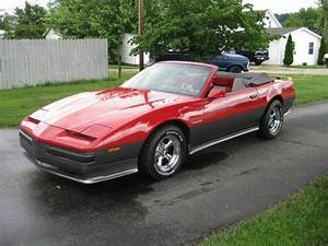 Sell Used 1985 Pontiac Firebird S  E Convertible 2 8l In