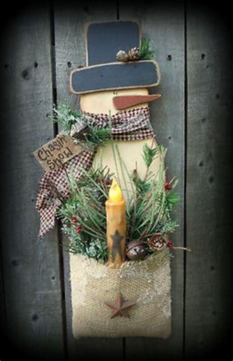 wood crafts snowman  burlap  pinterest