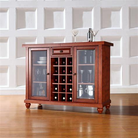 beautiful wooden cabinet  glass doors   storage