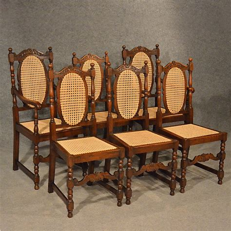 antique oak chair antiques atlas antique oak chairs set 6 kitchen dining 1292