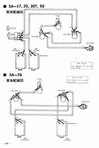 Stratocaster Wiring Diagram Yamaha Style
