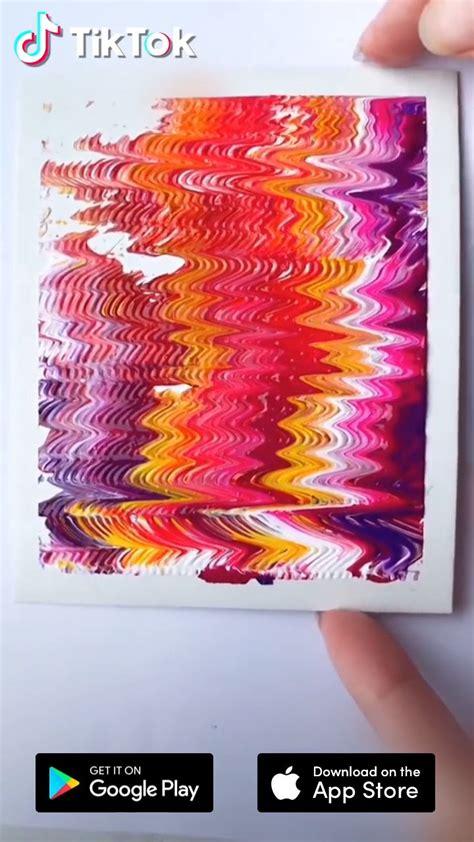 easy art painting tutorial  tiktok  find