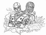 Zero Coloring Mortal Scorpion Sub Kombat Pages Anime Vs Random Teens Characters Amrock Printable Boys Ninja Lego Deviantart Wars Star sketch template