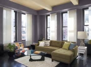 beispiele wandfarbe lila wohnzimmer wandfarbe ideen und farbkombinationen fürs wohnzimmer