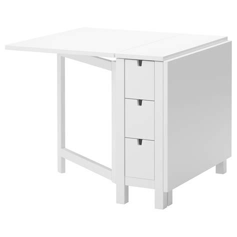 Ikea Tisch Zusammenklappbar by Norden Gateleg Table White 26 89 152 X 80 Cm Ikea