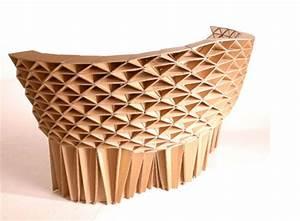 Meuble En Carton Design : design meubles en carton ~ Melissatoandfro.com Idées de Décoration