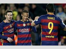 Messi, Neymar y Luis Suárez, el tridente de oro Marcacom