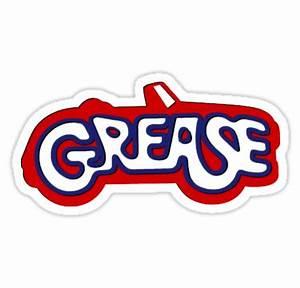 """Grease Logo"" Stickers by RockabillyAnt Redbubble"