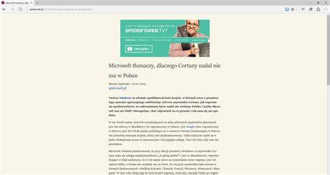 wszystko co musisz wiedzieć o przeglądarce edge na kilka dni przed premierą windows 10