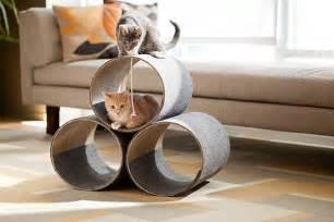 diy cat house the cat s meow minimal kitty diy cat play house