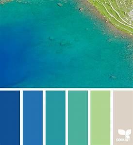 Bleu Vert Couleur : color nature d co mur couleur peinture palette de ~ Melissatoandfro.com Idées de Décoration