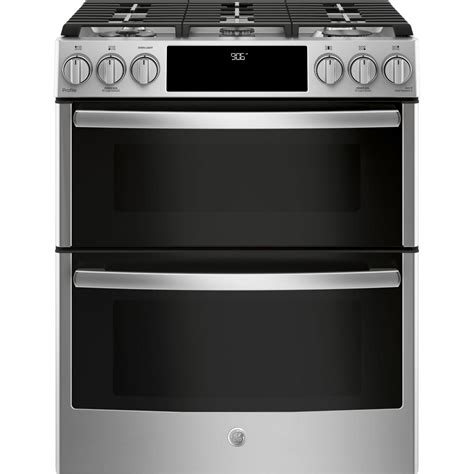 ge profile  cu ft   smart gas range   cleaning double oven  wifi