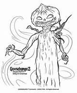 Coloring Pages Goosebumps Sheets Halloween Slappy Chilling Monster Trailer Special Official Books Colors Showtimes Printable Colouring Scary Screenings Tickets Careful sketch template