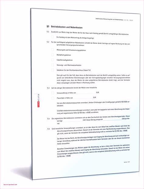 haus und grund münchen mietvertrag 6 vorlage nebenkostenabrechnung fur mieter