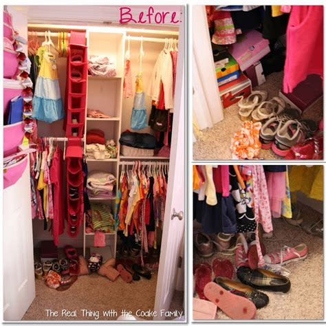 Kids Closet {organizing Ideas}  The Real Thing With The