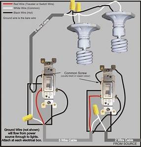 3 Way Switch Wiring Diagram In 2019