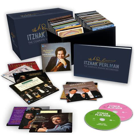 Itzhak Perlman The Complete Warner Recordings  Cd Opus3a