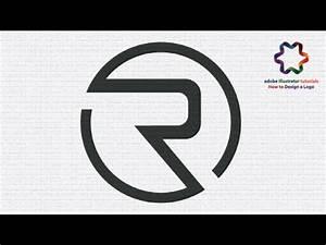custom simple letter logo design circle letter r logo With custom letter logo