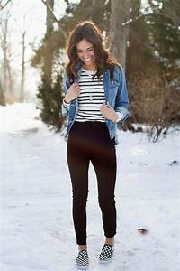 Outfit With Vans And Jeans