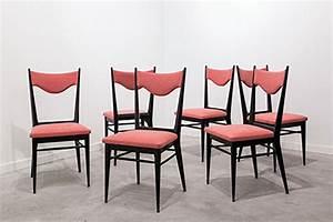 Esszimmerstühle 6 Set : italienische esszimmerst hle 1950er 6er set bei pamono kaufen ~ Orissabook.com Haus und Dekorationen