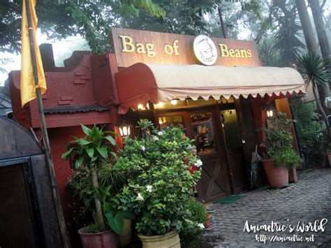 Tagaytay city is known for two things, affordable beef meat and buko pies. Bag of Beans Coffee Shop, Restaurant, and Bakery in Tagaytay City - Animetric's World