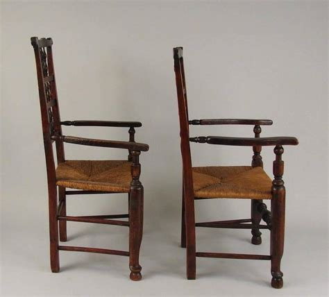 elm provincial spindle back chairs with seats