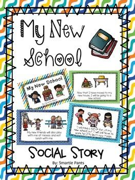 My New School Social Story By Smartie Pants  Teachers Pay Teachers
