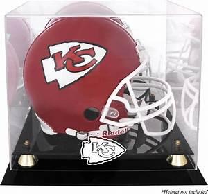Kansas City Chiefs Helmet Display Case