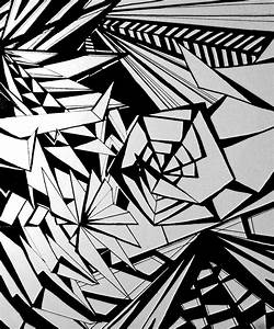 18 Abstract Designs To Draw Images - Cool Easy Abstract ...