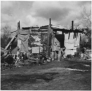 Great Depression - Life in a Hooverville