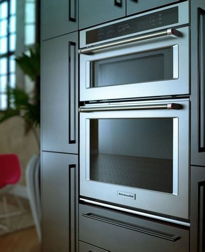 """Koce500ess Kitchenaid 30"""" Combination Wall Oven With Even"""