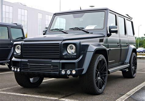 mercedes jeep matte black inside brabus g class mercedes benz amg black matte front