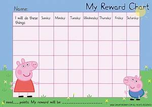 Printable Potty Chart For Toddlers Free Peppa Pig Reward Chart Toddler Reward Chart Potty