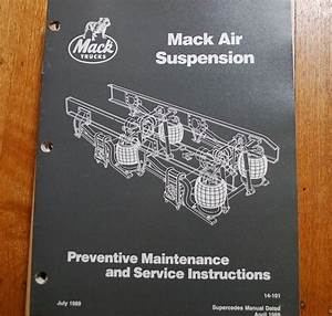Mack Truck Air Suspension Maintenance Repair Service