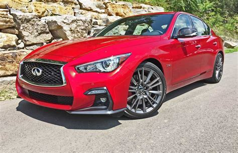 infiniti   red sport  refreshed style