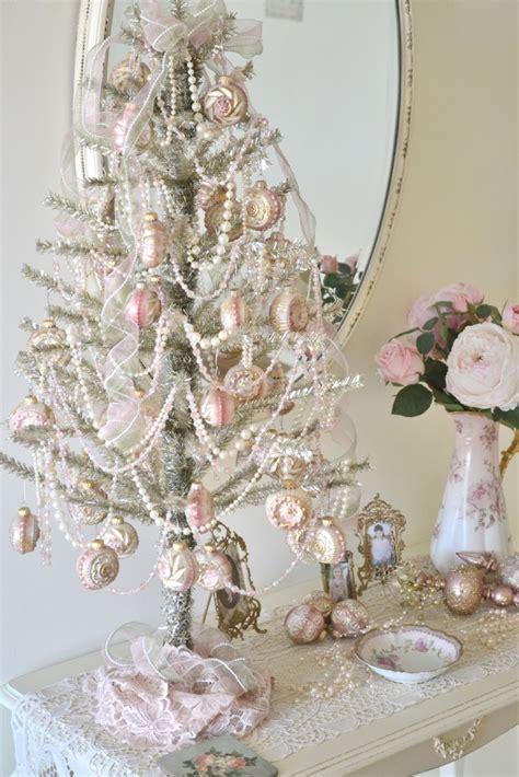 shabby chic tree decorations