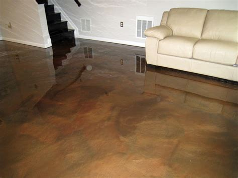Maryland floor feat. Metallic Epoxy