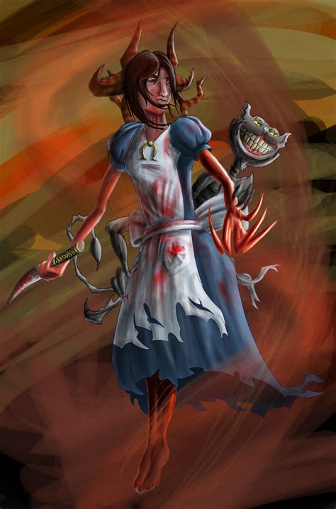 Alice Madness Returns By Saddays On Deviantart