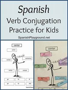 Spanish Verb Conjugation Practice For Kids