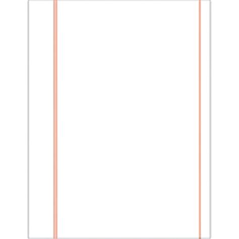 letter size 24lb cotton bond standard ruled pleading paper