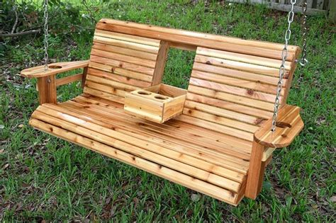 porch swing  center console diy porch swing