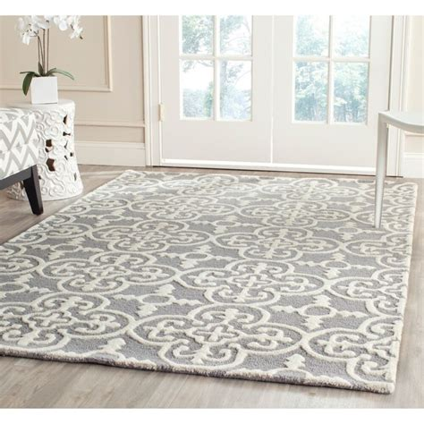 Safavieh Rugs Outlet by Safavieh Handmade Moroccan Cambridge Blue Silver Wool Area