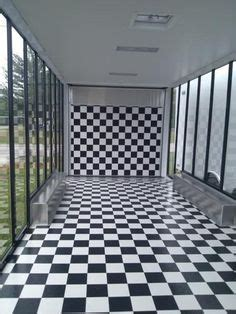 checkered vinyl flooring for trailers 1000 images about custom designed trailers on
