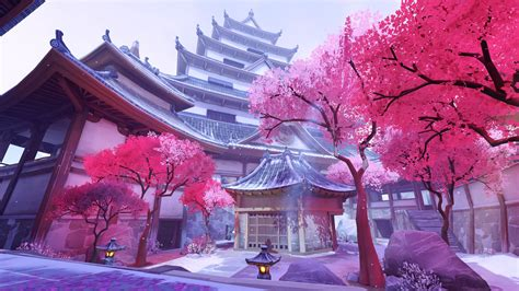 Beautiful Winter Landscape Wallpaper Hanamura Overwatch 2 Wallpapers