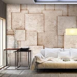 Stein Tapete 3d : vlies fototapete stein steinwand beton grau 3d effekt tapete wandbilder xxl 180 ebay ~ A.2002-acura-tl-radio.info Haus und Dekorationen