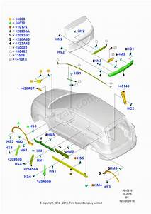 Body Mouldings Ford Kuga 2012