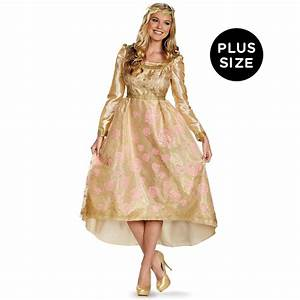 Maleficent - Aurora Deluxe Coronation Gown Adult Plus ...